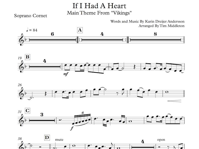 Middleton Music - Arrangements